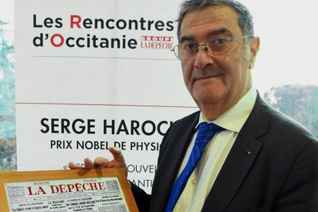 Serge HAROCHE, Prix Nobel de Physique, premier invité des Rencontres d'Occitanie