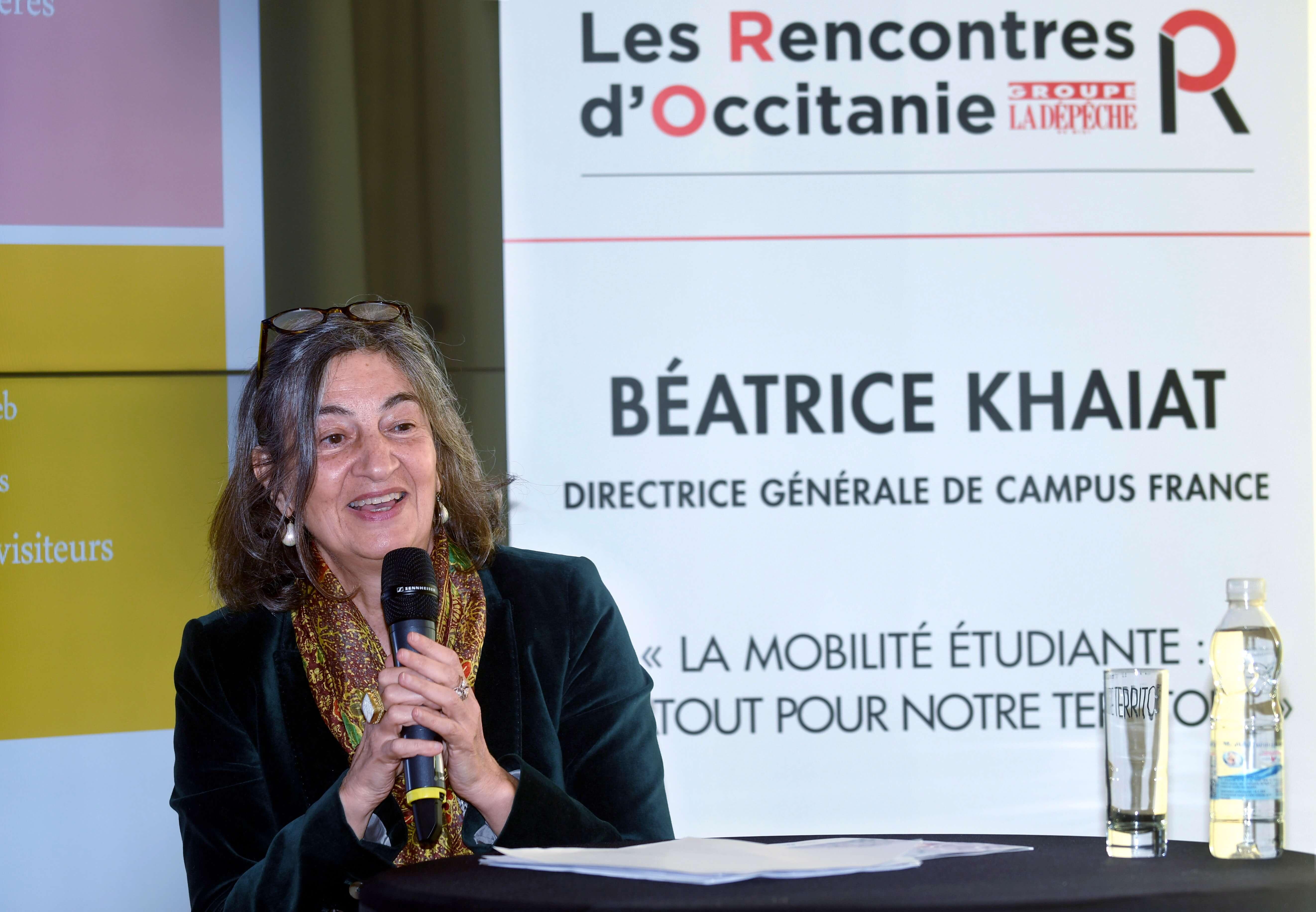 Béatrice KHAIAT 21eme édition Les Rencontres d'Occitanie