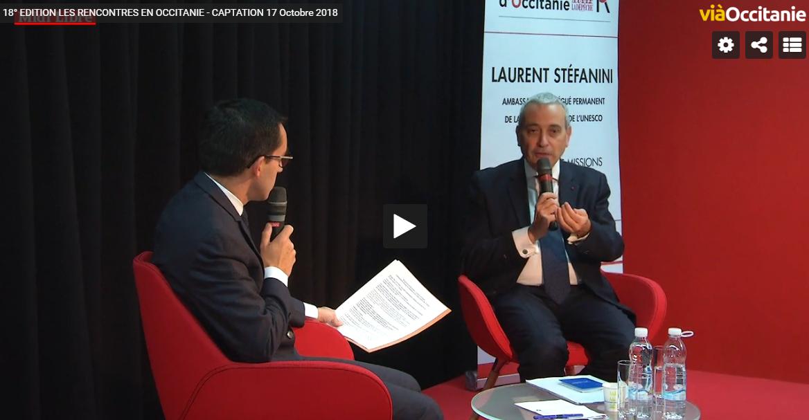 Image Vidéo 18ème édition des Rencontres d'Occitanie Midi Libre 17 octobre 2018