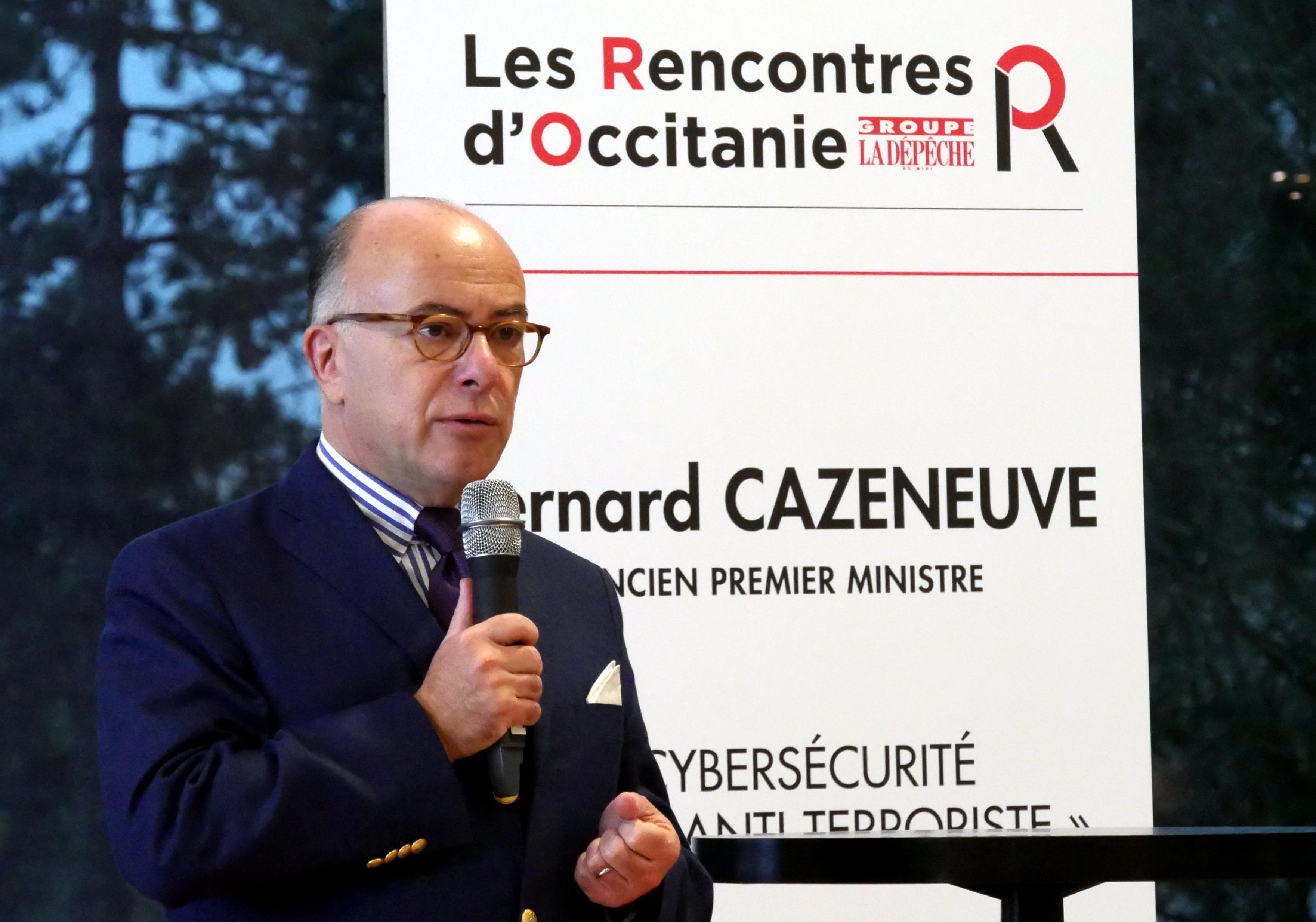 Bernard CAZENEUVE Invité Les Rencontres d'Occitanie - PM1