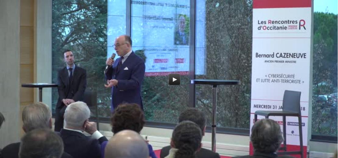LRO Vidéo Intégrale Dépêche du Midi Bernard CAZENEUVE - Les Rencontres d'Occitanie - 31 janvier 2018
