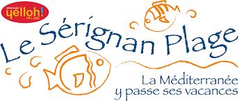 Logo Sérignan-plage camping