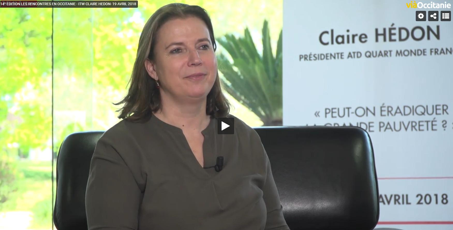Interview vidéo Claire Hédon - 14ème édition Les Rencontres d'Occitanie