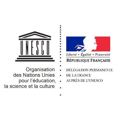 Logo Ambassade permanente de la France auprès de l'UNESCO