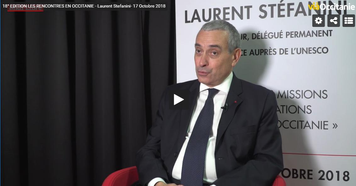 SE Laurent Stéfanini interview 17 octobre 2018