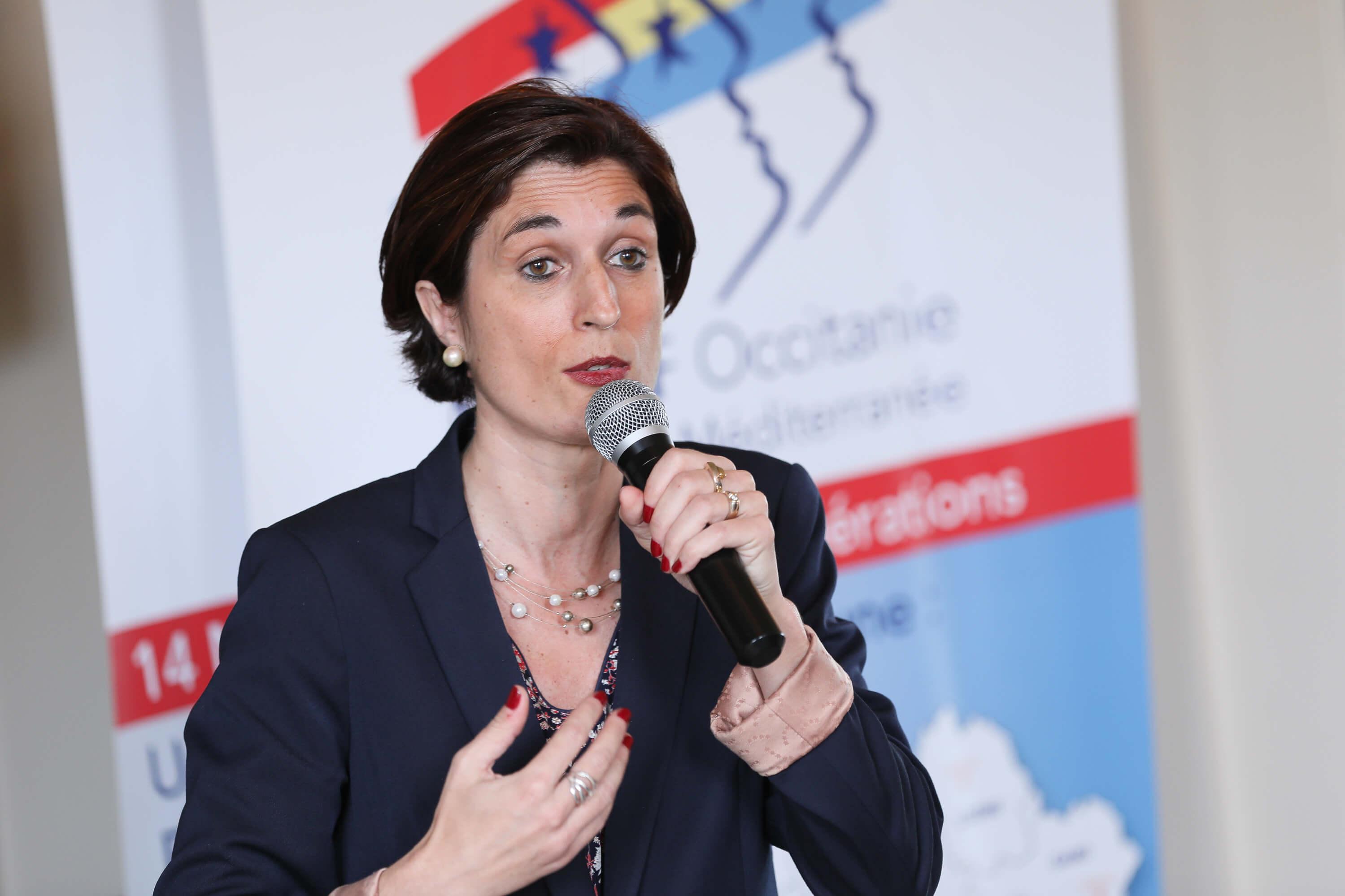 Sophie GARCIA, Présidente du MEDEF Occitanie, invitée 20eme édition des Rencontres d'Occitanie