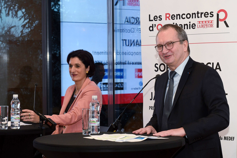 Sophie Garcia & Jacques Chanut La Depeche du Midi
