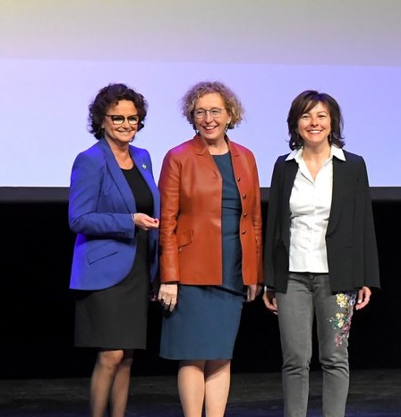 Inauguration LMN Pénicaud Delga Marchand-Baylet