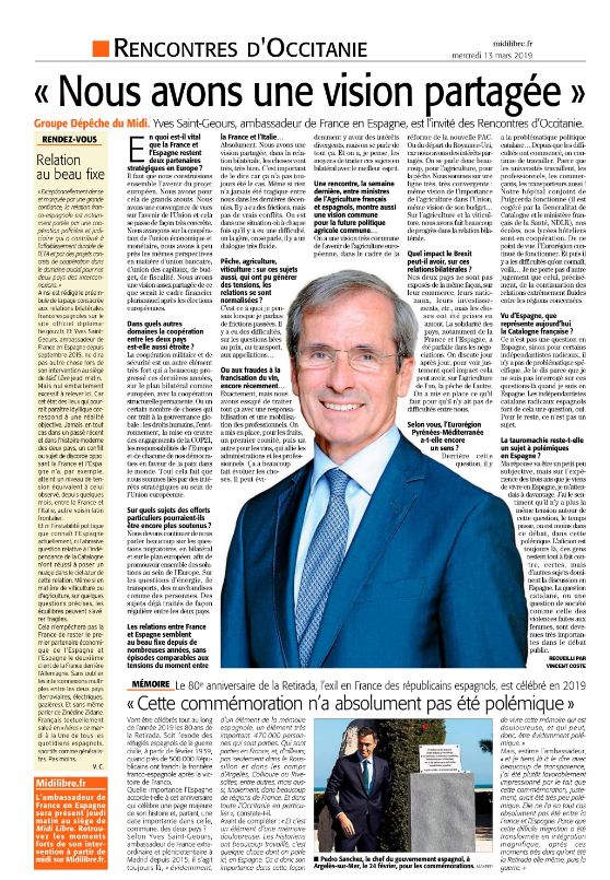 Interview LRO Yves Saint-Geours 13 mars 2019