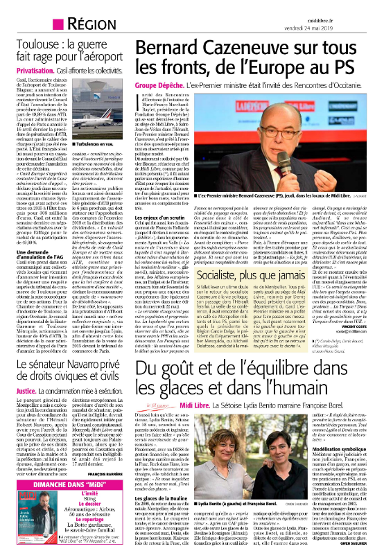 ML 24 mai 2019 Bernard CAZENEUVE Les Rencontres d'Occitanie